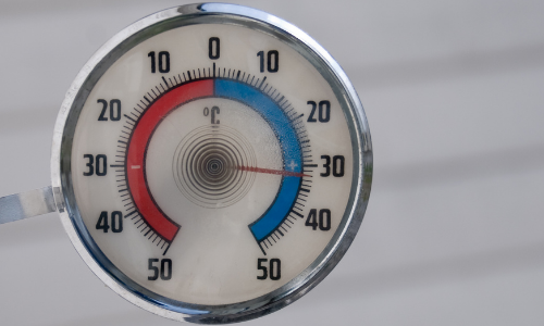 lower temperatures can lead to freezing plumbing
